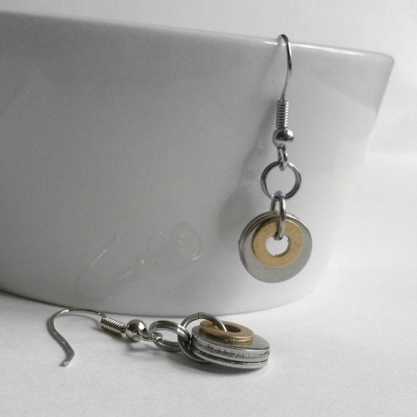 Everyday Washer Earrings for woman