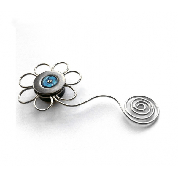 Handmade Metal Flower Gift Blue