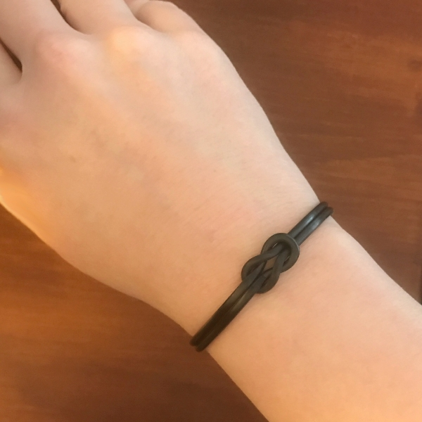 Metal Knot Cuff Bracelet - Great Gift for Man or Woman