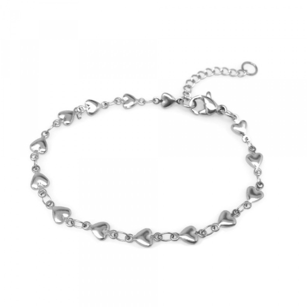 Silver Love Jewelry Gift for Girlfriend