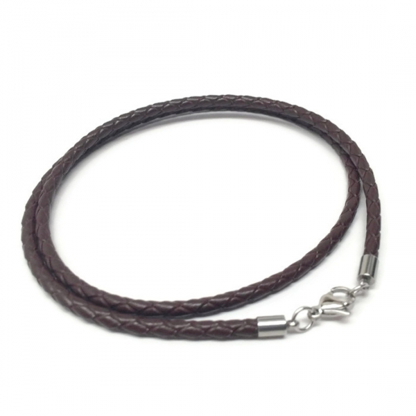 High Quality Leather Jewelry Dark Brown