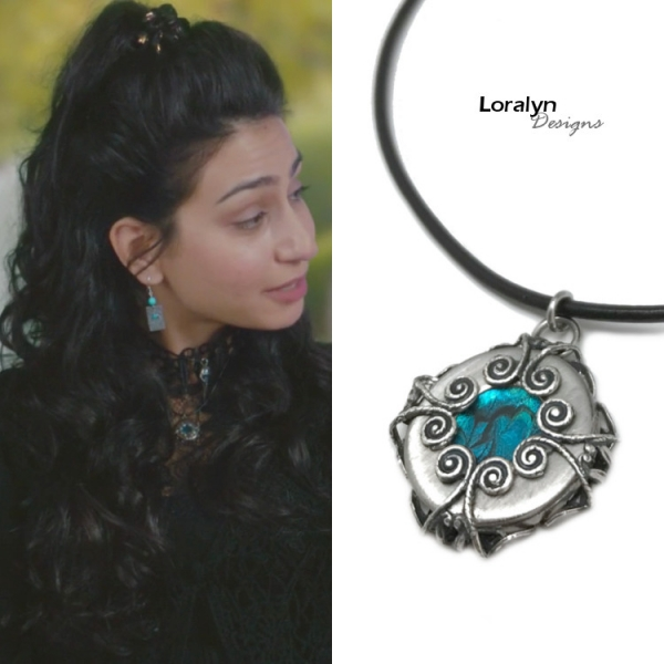 Witchcraft Swirl Pendant Necklace as Seen on TV show Charmed 2018