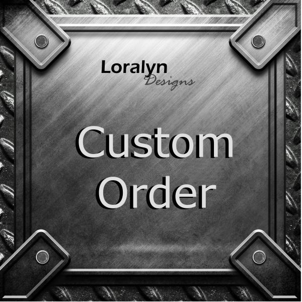 Custom Jewelry Order Sign Icon Picture Loralyn Designs