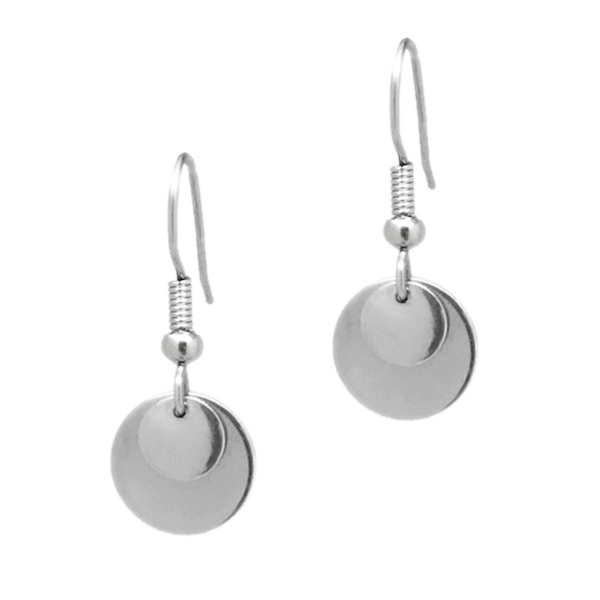 Round Hypoallergenic Surgical Steel ewelry for Sensitive Ears