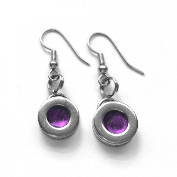 Non tarnish jewelry steel earrings for her