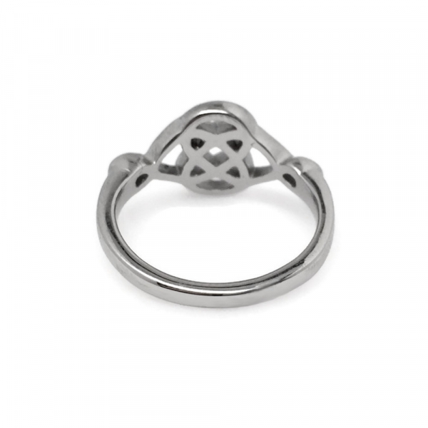 Fine Craftsmanship Smooth Polished Irish Ring Detail