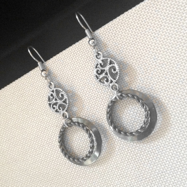 Steel Filigree Jewelry
