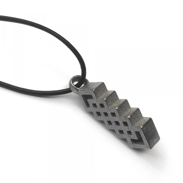 Vertical Celtic Weave Pendant
