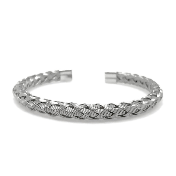 Unique Unisex Silver Steel Bracelet for Women Teen Girls Men Jewelry Gifts