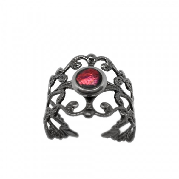 Middle Finger Ring Awesome Design Blood Red