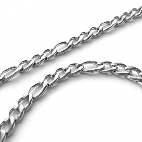 Thick Stainless Steel Silver Necklaces for Men