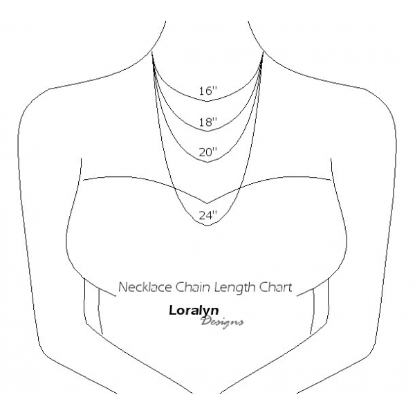 Necklace Chain Lengths for Women