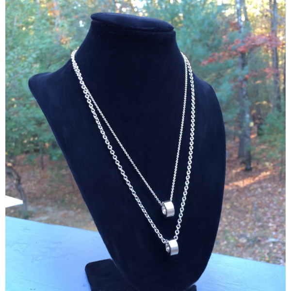 Necklace Chain Width Comparision 1.6mm to 3mm