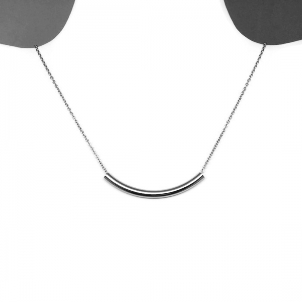 Day to Night Jewelry Silver Simple Casual Steel Sensitive Skin