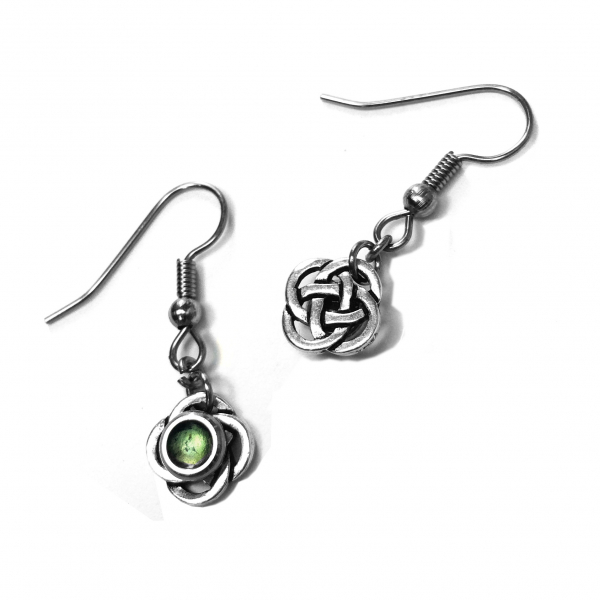 Celtic Knot Pattern - Earrings Back Image