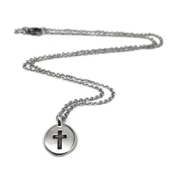 Tiny Simple Christian Jewelry for Girls Confirmation Gift