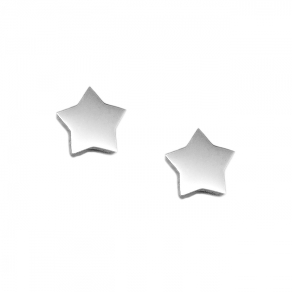 Hypoallergenic Minimalist Silver Studs for Sensitive Ears