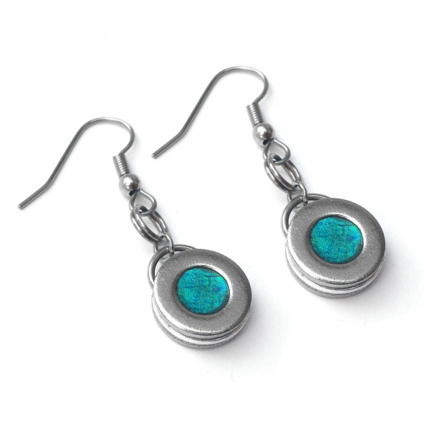 Earrings for Sensitive Ears Round Dangle
