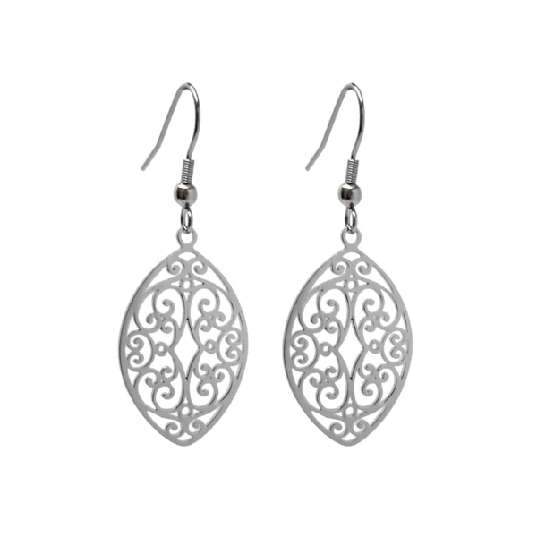 Feminine Flourish Earrings Great for Sensitive Skin Gift for Fiance