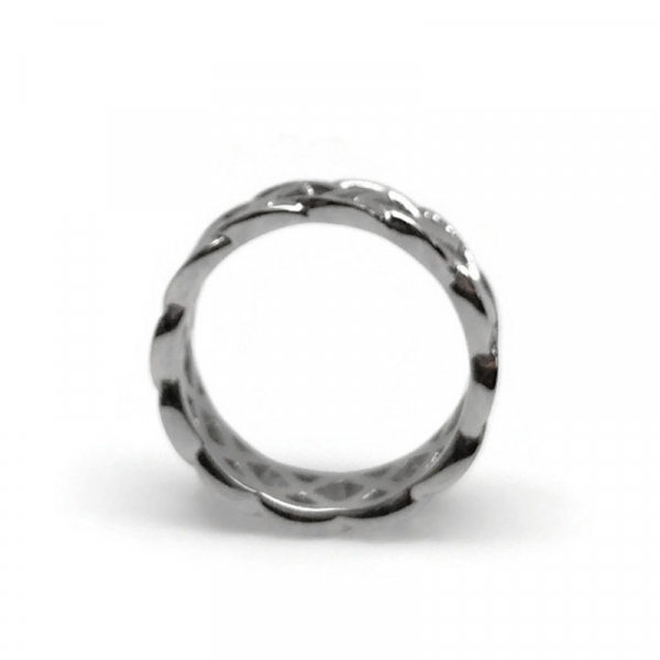 High quality trendsetter jewelry for man thick band ring