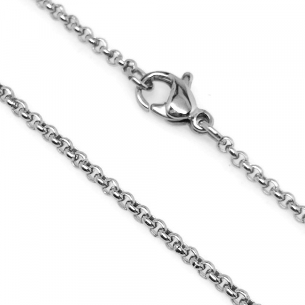 Circle Chain Necklace for Women Girls Gals
