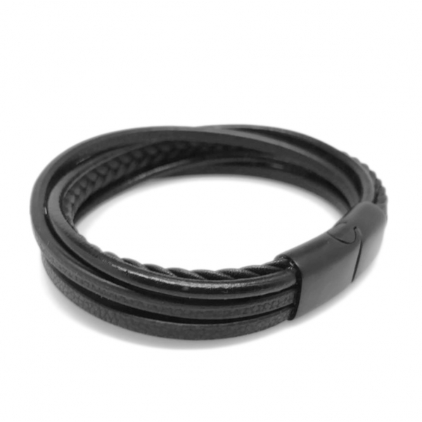 2018 Gifts for Him Leather Wristband Jewelry for Guys and Gals