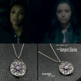 Wiccan Filigree Necklace as Seen on TV Witch Bonnie Bennett