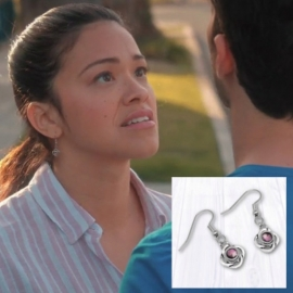 Earrings As seen on TV Jane the Virgin Jewelry worn by Gina Rodriguez