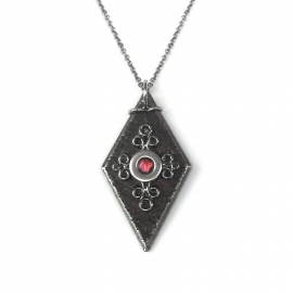 Cool Jewelry - Medieval Black Diamond The Vampire Diaries Necklace