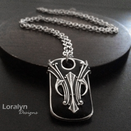Unique Jewelry for Man Stainless Steel Black