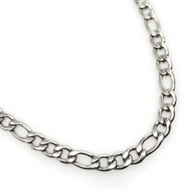 Italian Link 31L Steel Sypoallergenic Necklace Chain for Guy