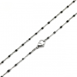 Necklace Chain for Sensitive Skin Womens Petite Non Tarnish