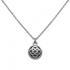 Celtic Love Committment Jewelry Circle Pendant Great for Layering