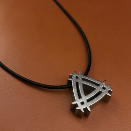 Cool unisex necklace!  Is there such a thing as tattoo jewelry design?
