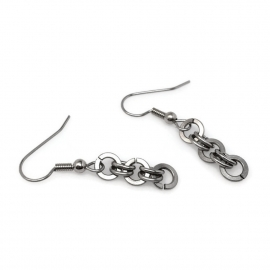 Handmade Earring Unique Stainless Steel Jewelry for Women