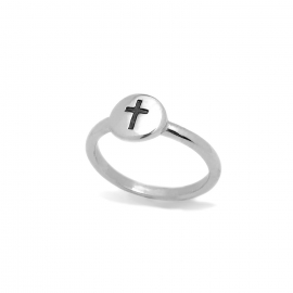 Confirmation Remembrance Memorial Gift Idea Simple Titanium Cross