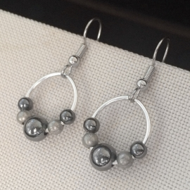 Day to Night Earrings Versatile Date Night French Hook