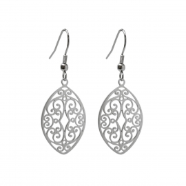 Beautiful Feminine Flourish Earrings Great for Sensitive Ears Gift for Fiance