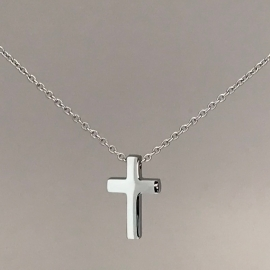 Confirmation Baptism Remembrence Gift Idea Simple Titanium Cross