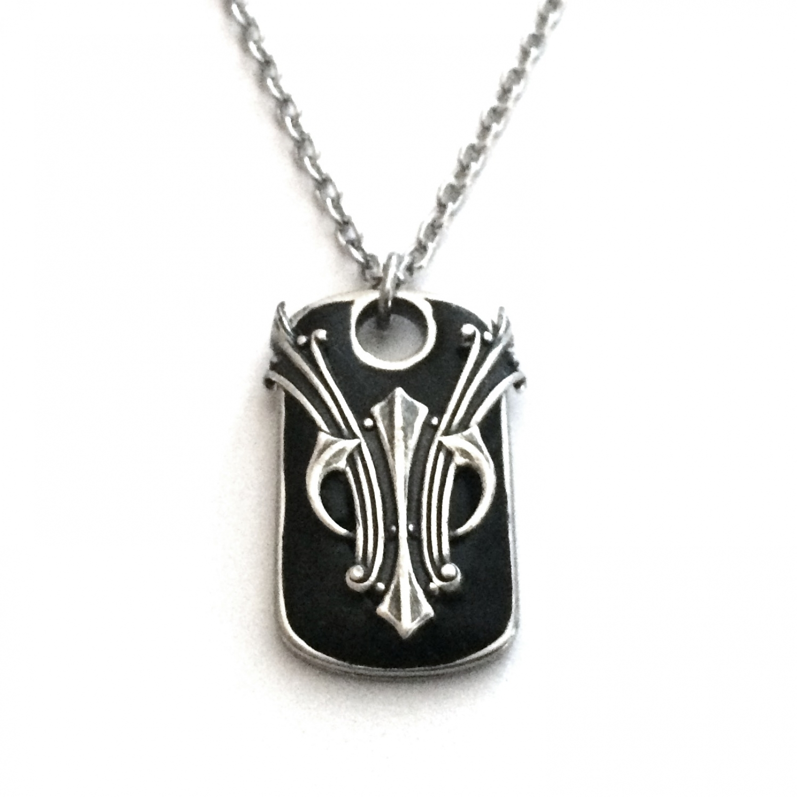 pendant jewelry celtic product dog tag ice dogtag handmade ogham model