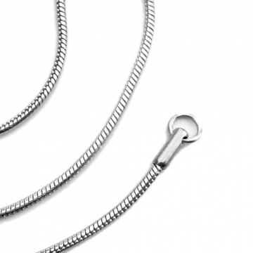 Stainless Steel Round Snake Chain - 2mm