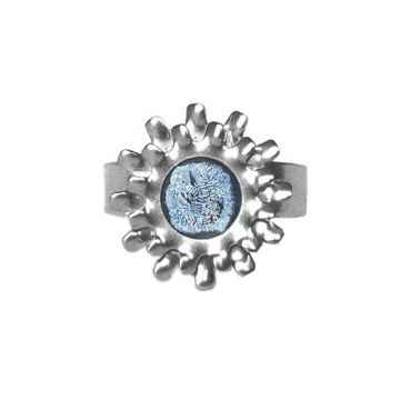 Womens Gear Ring Stainless Steel