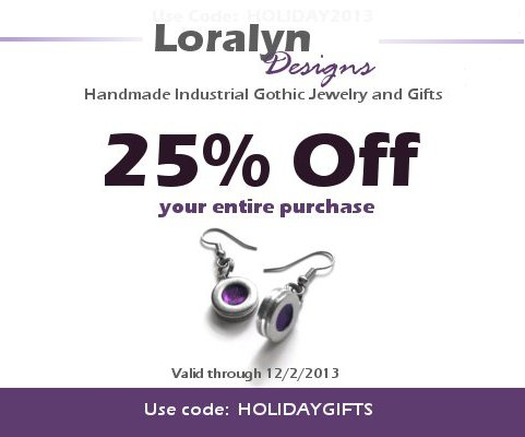 Loralyn Designs Black Friday 2013 Ad