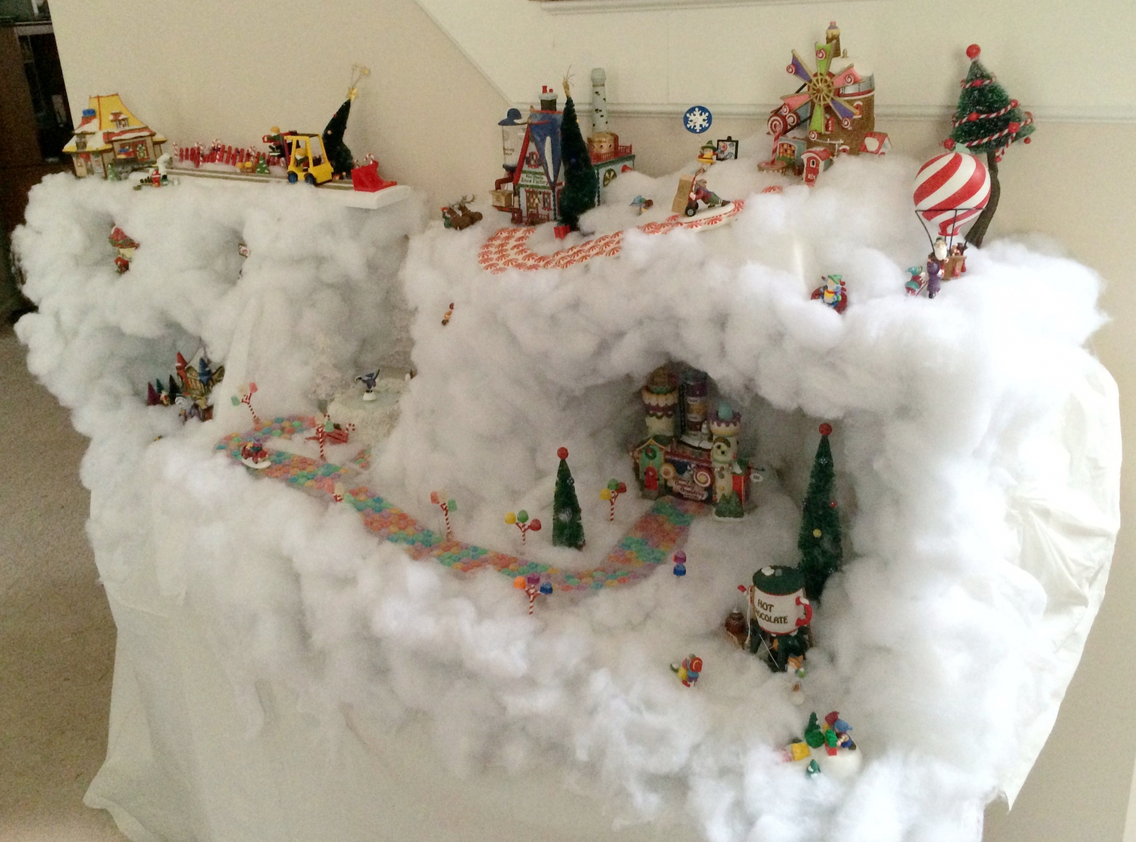 tips on how to set up a christmas village